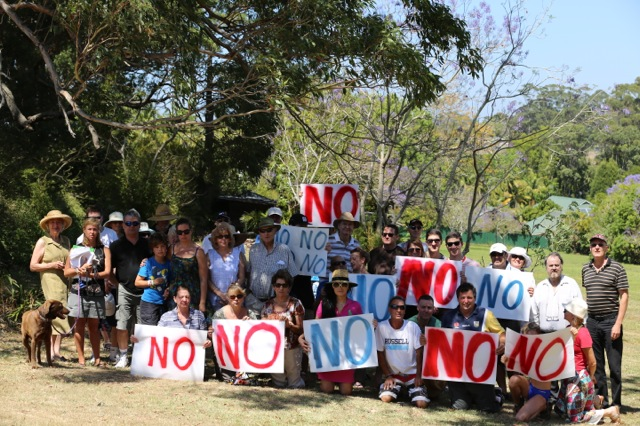 Image of Residents opposed to inappropriate development