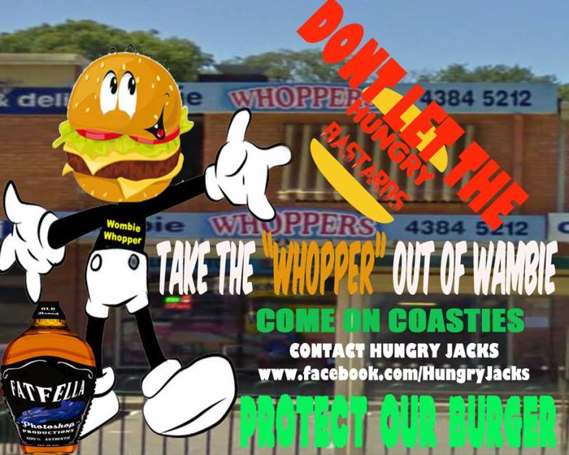 Save Wambie Whopper