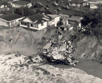 Wamberal beach erosion 1978 large