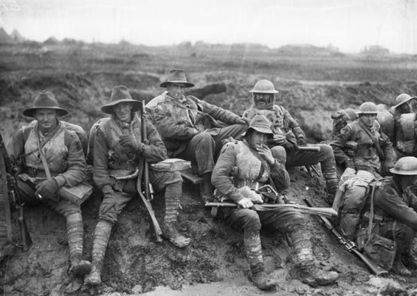 WW1 diggers from the 5th Divisoon 1916