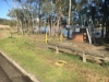 Council's replacement to Benjamin Parker Reserve: flood prone land next to a sewage station, open drains and a busy road