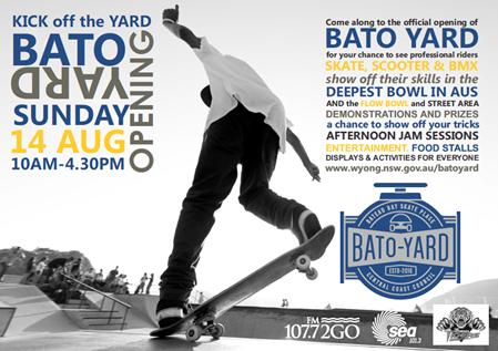 Bato skate park opening