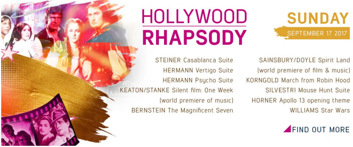 Hollywood Rhapsody concert - Sunday 17 September