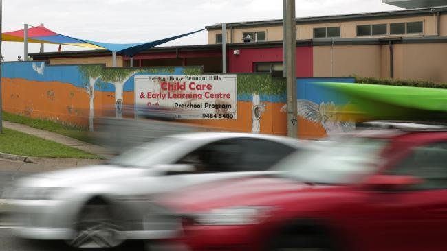 Child care care crash 13