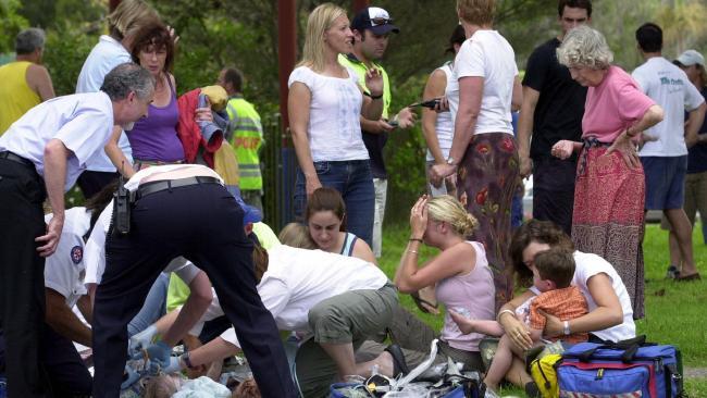 Child care care crash 17
