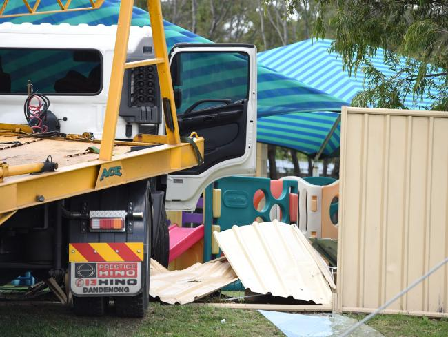 Ferntree gully truck into child care centre 2