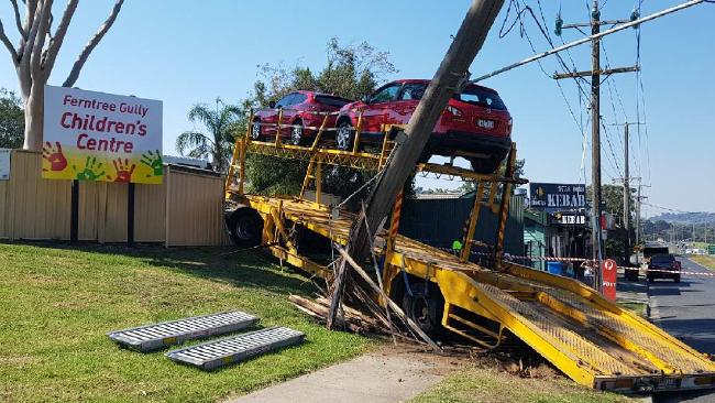 Ferntree gully truck into child care centre